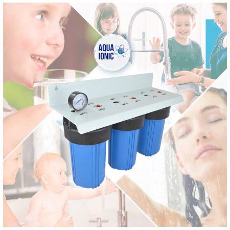 Super Filtro de Agua Triple Filtración 10″